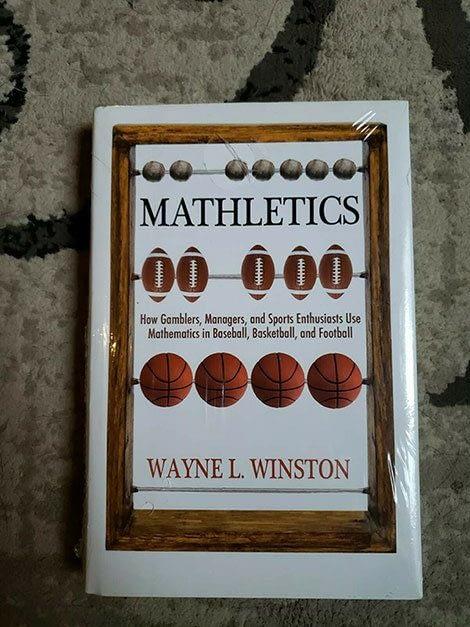 Mathletics by Wayne Winston - Sports Betting books